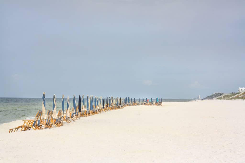 Florida Gulf Coast Beaches: Seacrest Beach