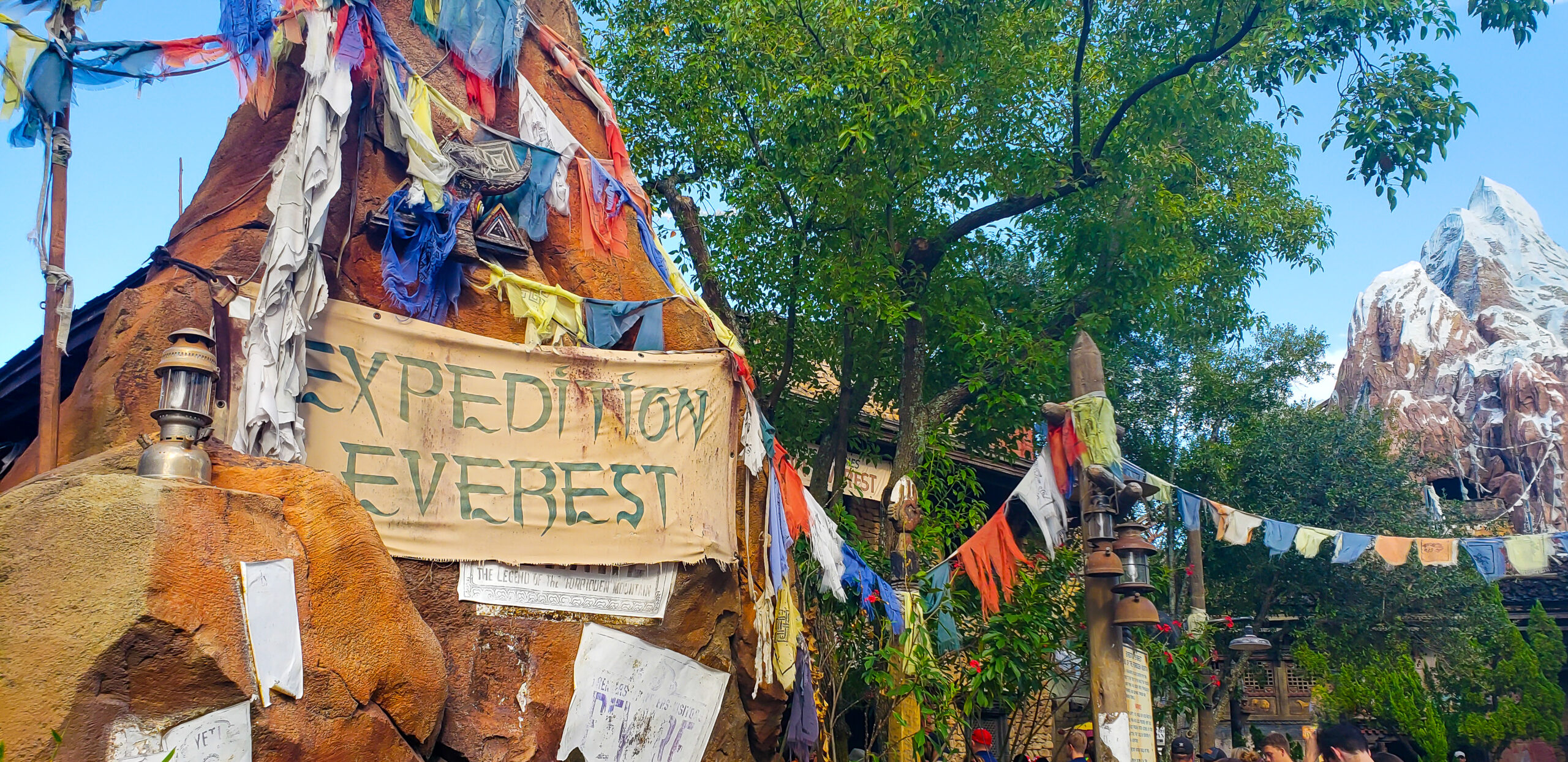 Expedition Everest ride sign