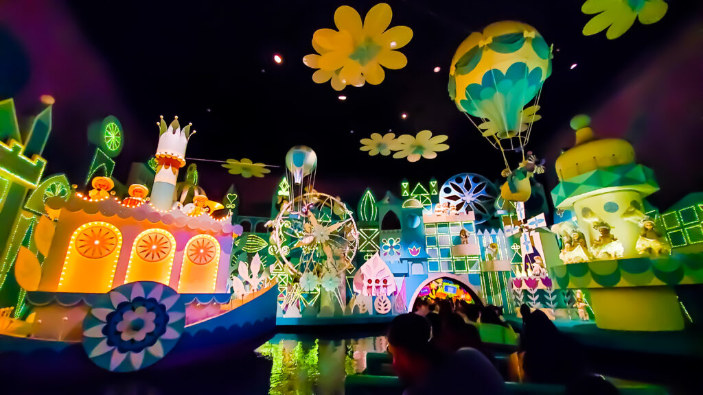 It's a Small World is a favorite ride for all ages!