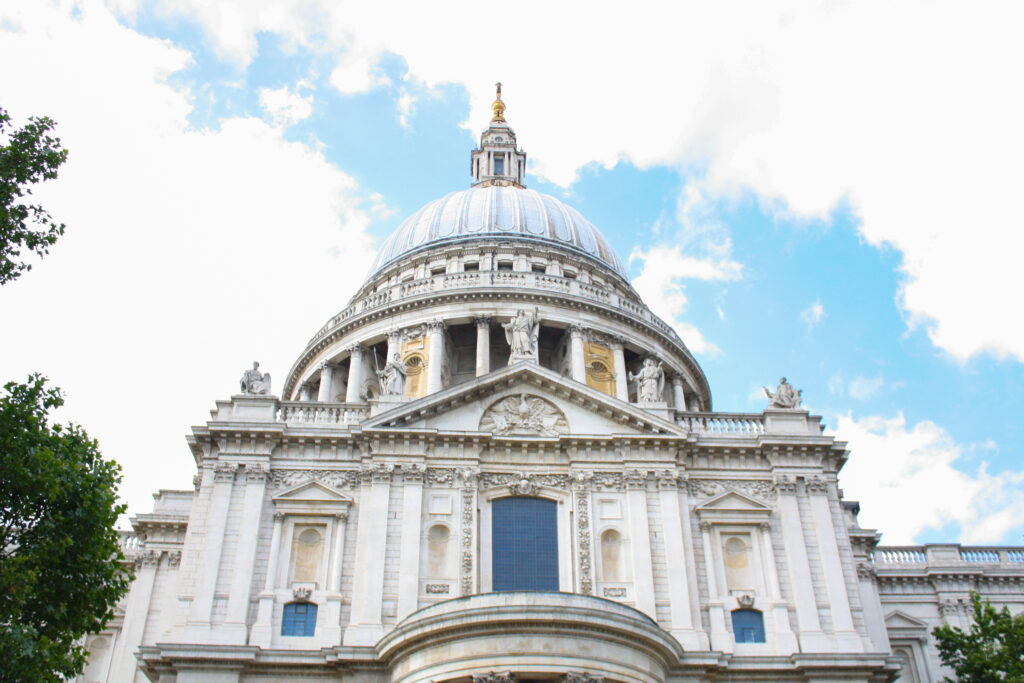 St. Paul's Cathedral, where you can attend Evensong