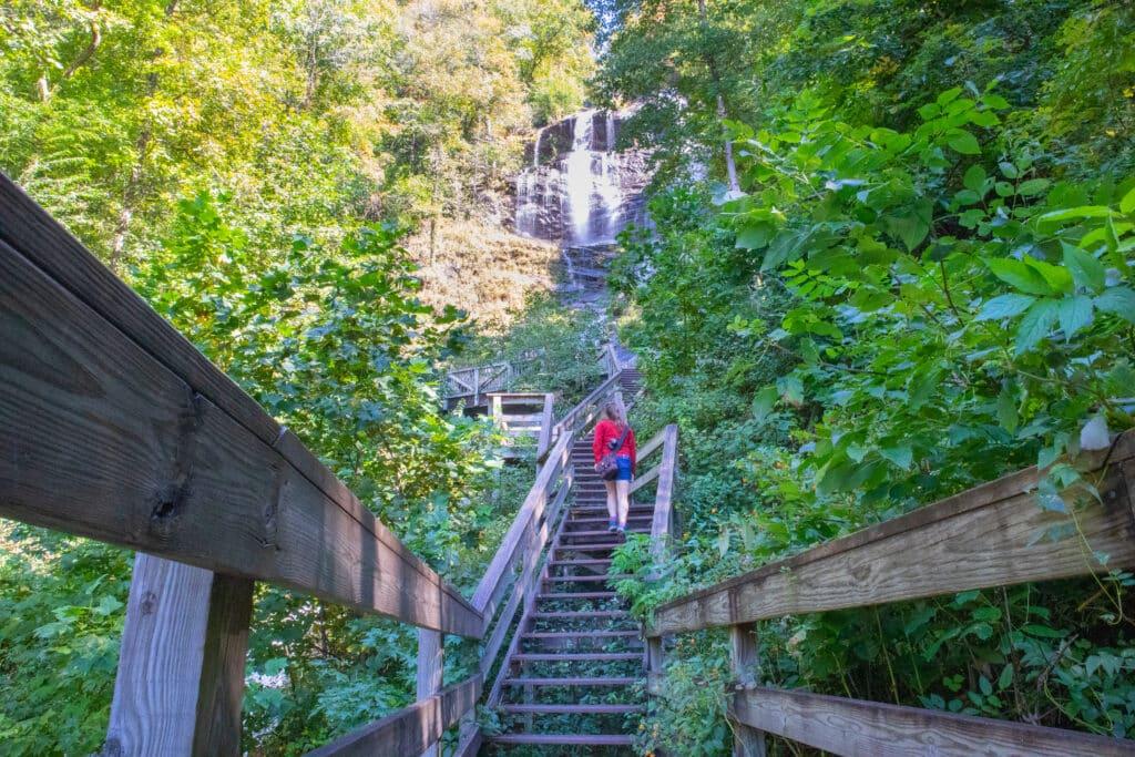 Stairs at Amicalola Falls