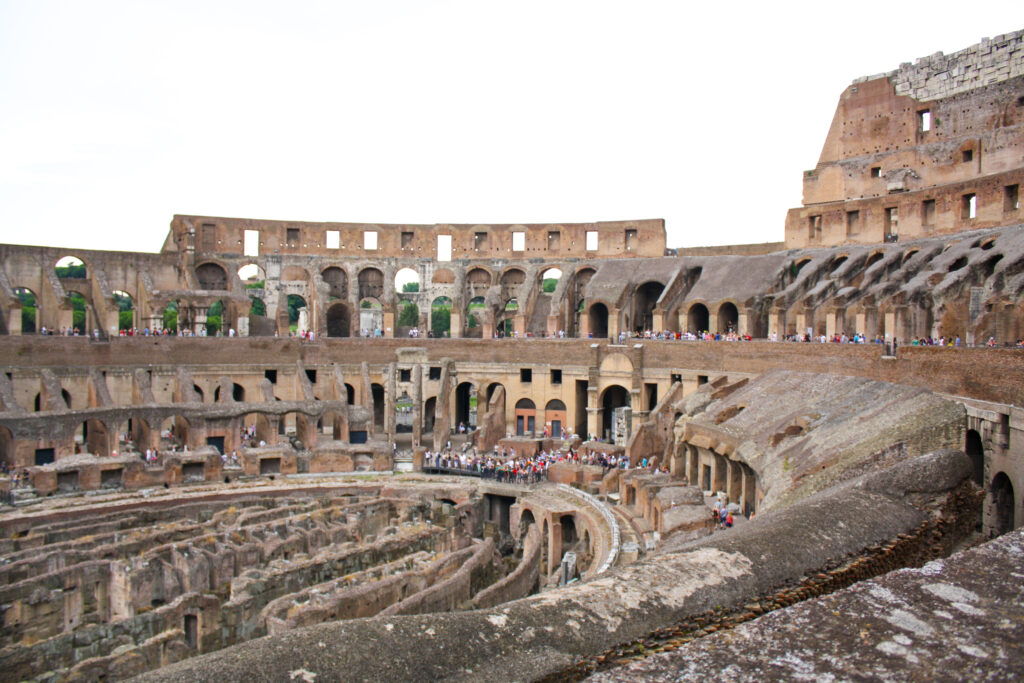 Visiting the Colosseum is a must-do for many people in their Rome itinerary