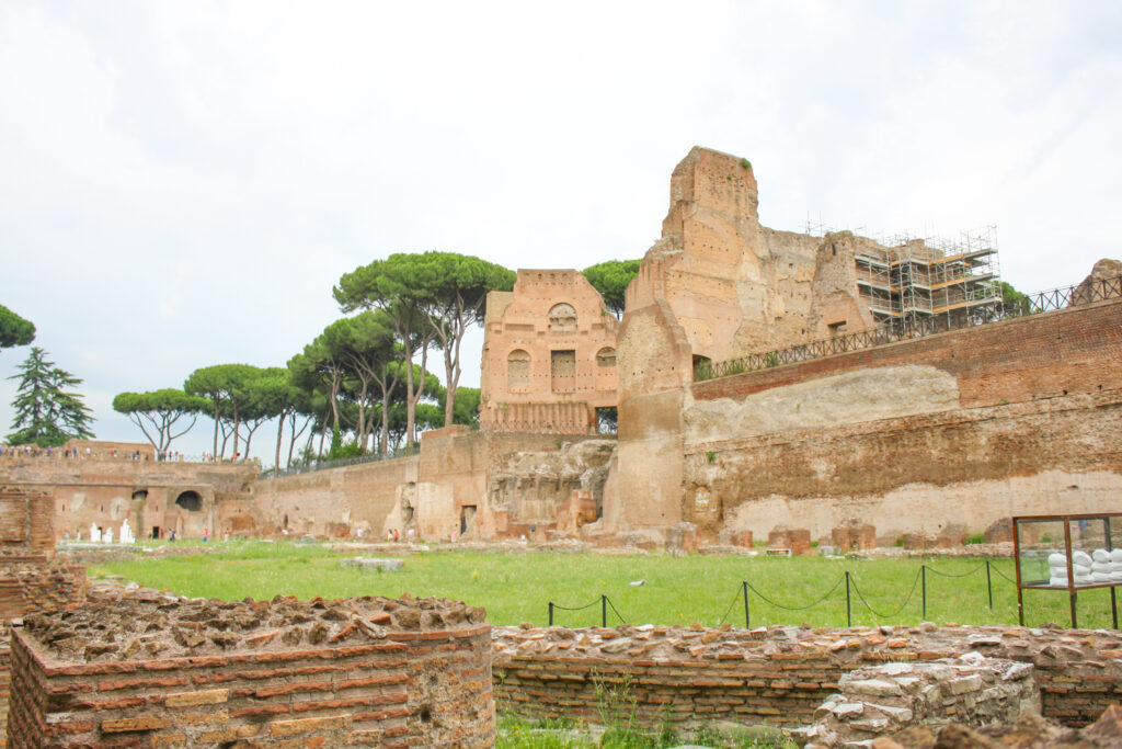 The Palatine Hill in Rome