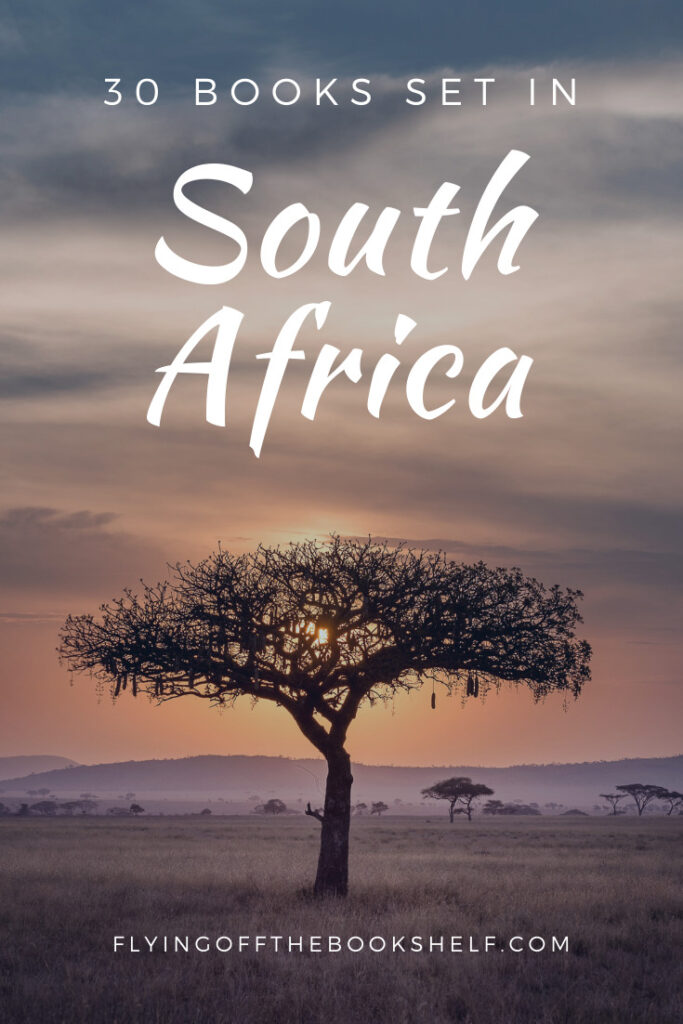 30 Books Set in South Africa pin