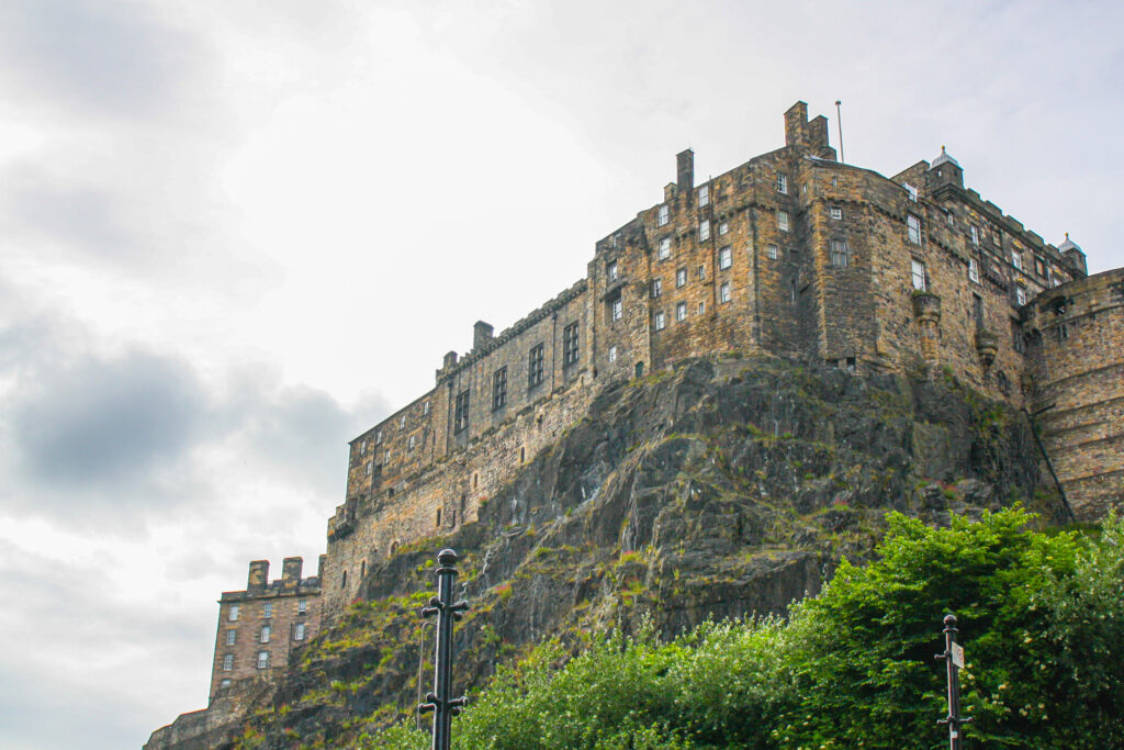Edinburgh Castle -- Stop 1 in our 2 day itinerary