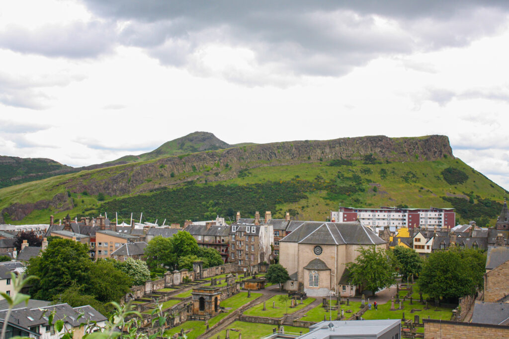 Climbing Arthur's Seat is one of the top things to do in Edinburgh