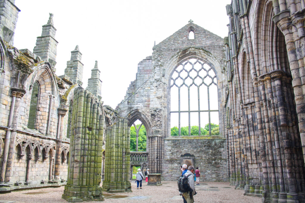 Holyrood Palace Abbey