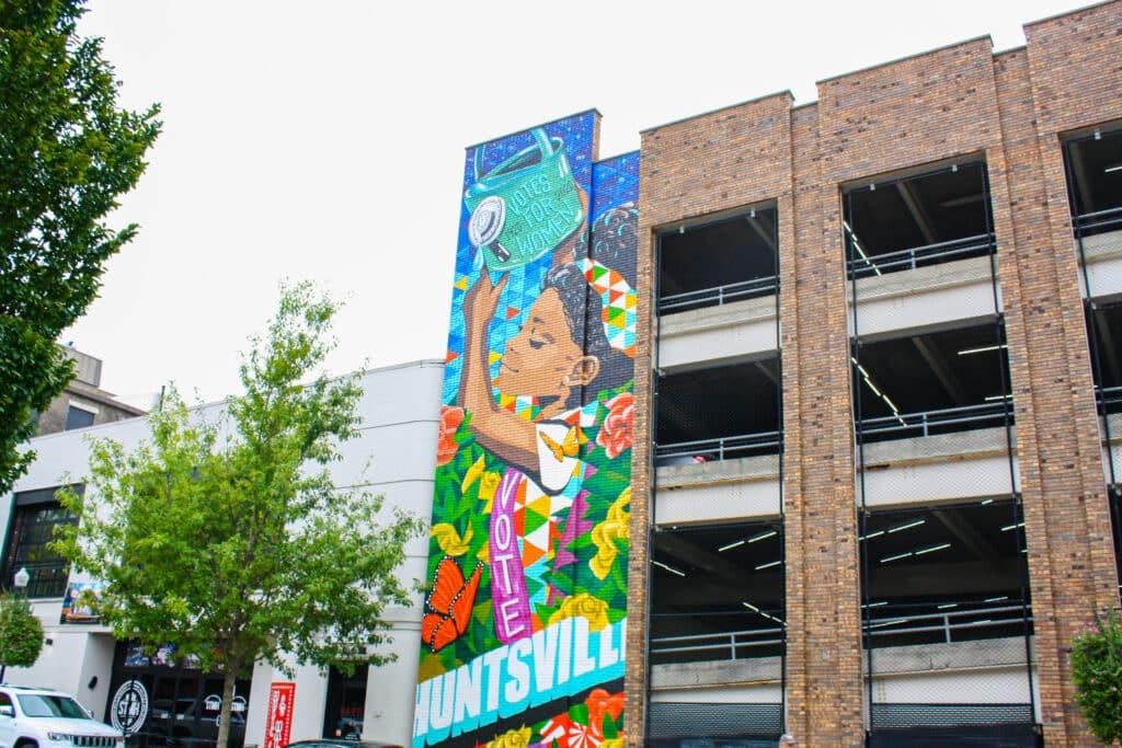 Huntsville Murals: 19th Amendment by Kim Radford