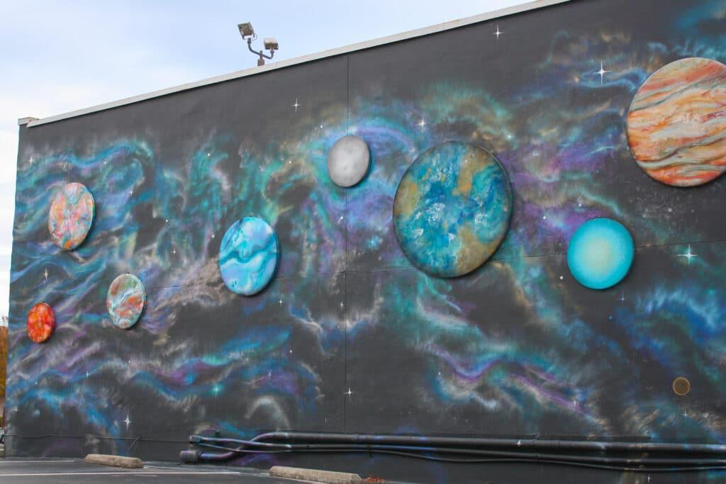 Huntsville Murals: Galactic by Jessie Andrews