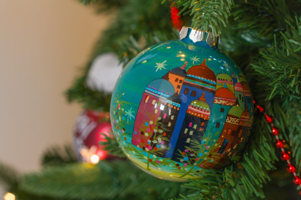 Ornaments are great travel souvenir ideas