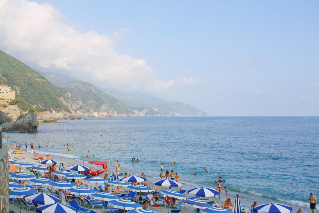 Beach at Monterosso al Mare