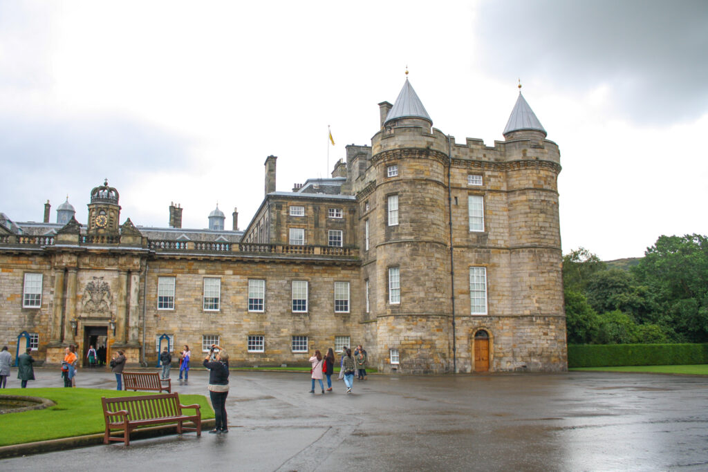 Palace of Holyroodhouse --  a must see for a 2 day Edinburgh itinerary