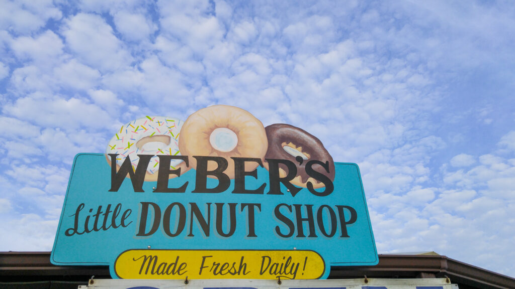 Weber's Little Donut Shop, Cape San Blas, FL