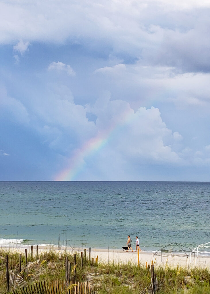 Rainbow on Cape San Blas, FL